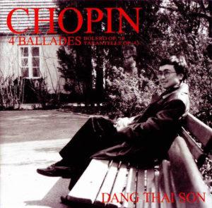 dang thai son chopin 4 ballades